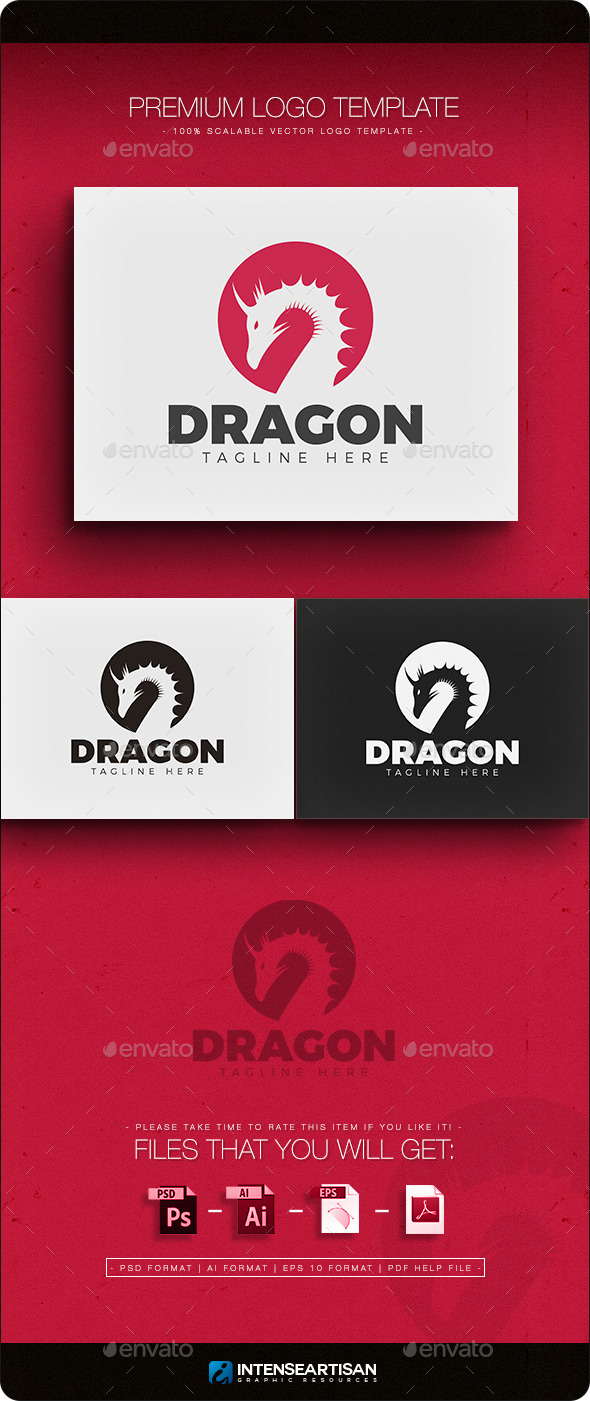 GraphicRiver Dragon Logo 11612907