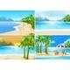 Beach Scenes - GraphicRiver Item for Sale