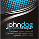 Black modern business card  - GraphicRiver Item for Sale