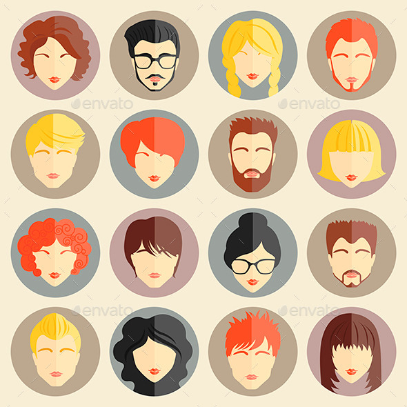 GraphicRiver Avatars 11613927