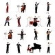 Musicians Icons Set - GraphicRiver Item for Sale