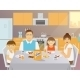 Family Breakfast - GraphicRiver Item for Sale