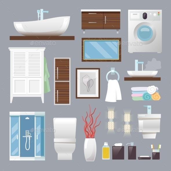 GraphicRiver Bathroom Furniture 11614283