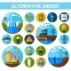 Alternative Energy Icons Set - GraphicRiver Item for Sale
