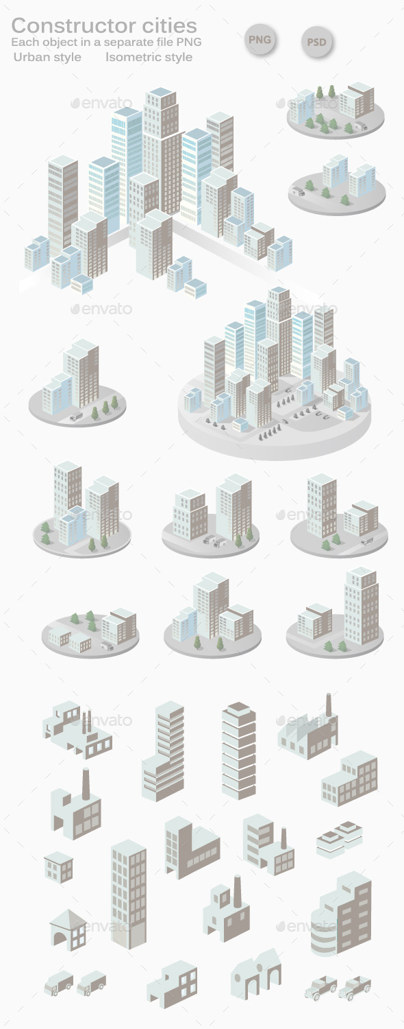 GraphicRiver Constructor cities 11592161