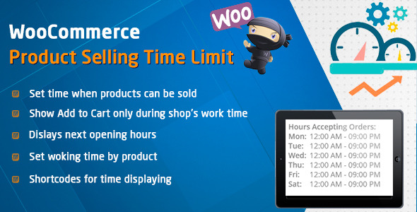 CodeCanyon WooCommerce Product Selling Time Limit 11615247