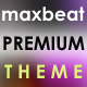 Maxbeat Premium theme for phpSound - CodeCanyon Item for Sale