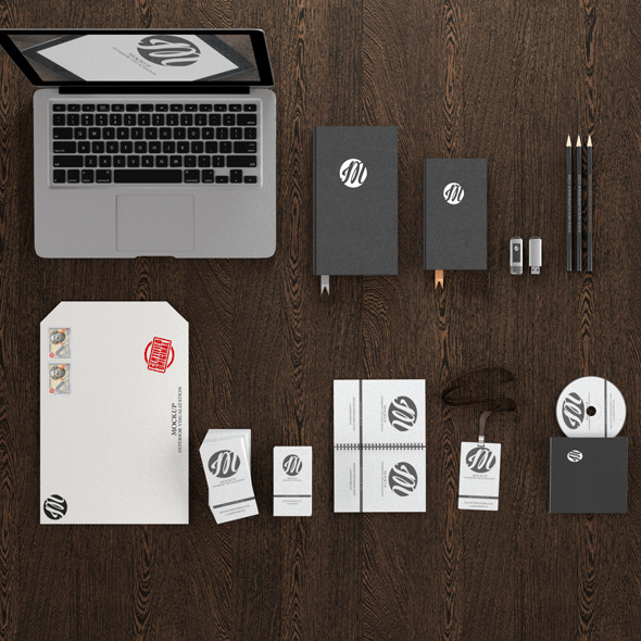 Branding Template C4D
