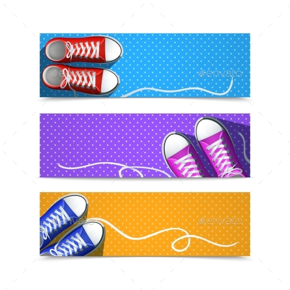 GraphicRiver Gumshoes Banner Set 11615588