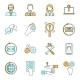 Support Icons Set - GraphicRiver Item for Sale