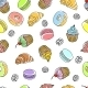 Cakes Seamless Pattern - GraphicRiver Item for Sale