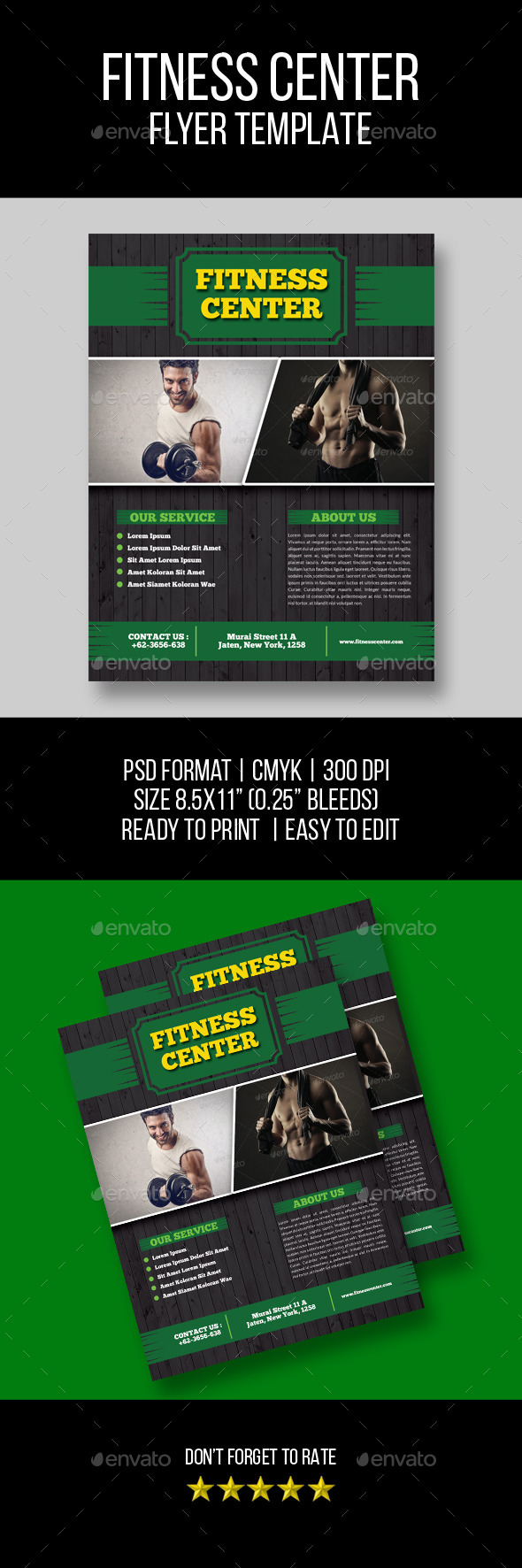 GraphicRiver Fitness & Sport Flyer 11616802
