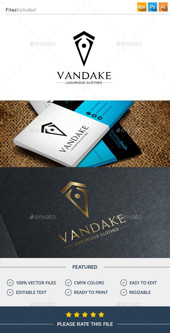 GraphicRiver Letter V Logo 11586893