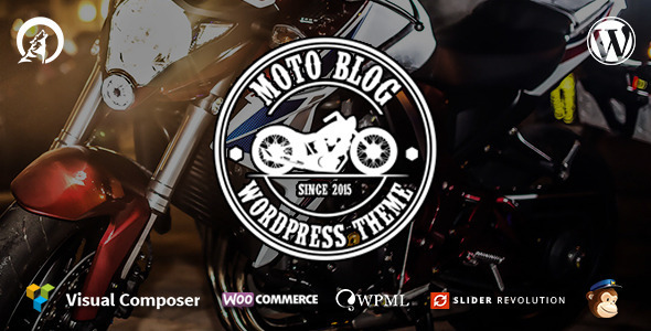 ThemeForest Motoblog A Wordpress Theme for Motorcycle Lovers 11560759