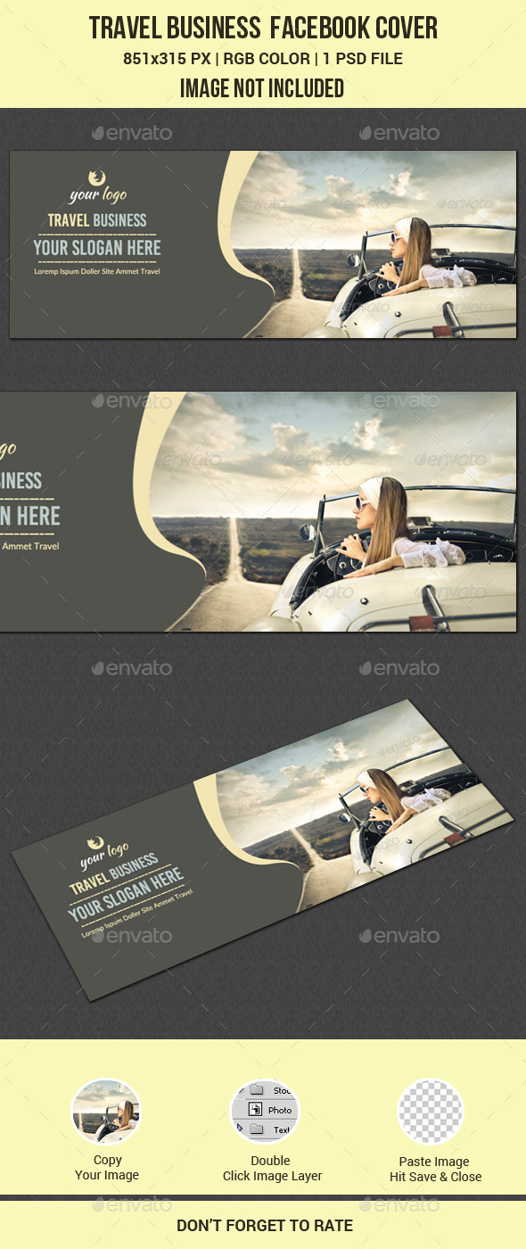 GraphicRiver Travel Facebook Cover 11617404