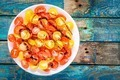 salad of organic cherry tomatoes with olive oil and balsamic sauce - PhotoDune Item for Sale