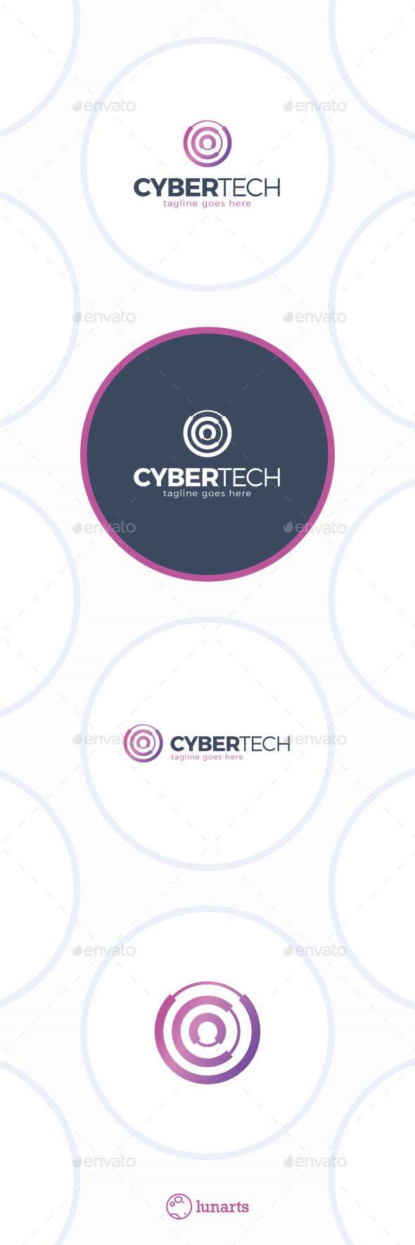 GraphicRiver Cyber Tech Logo Letter C 11591682