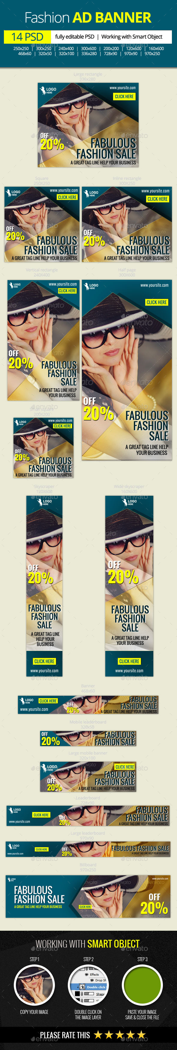 GraphicRiver Fabulous Fashion Sale web banners 11618691