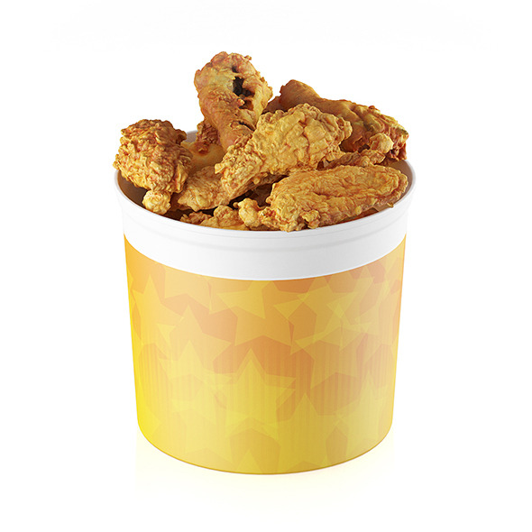 3DOcean Fried chicken bucket 11619078