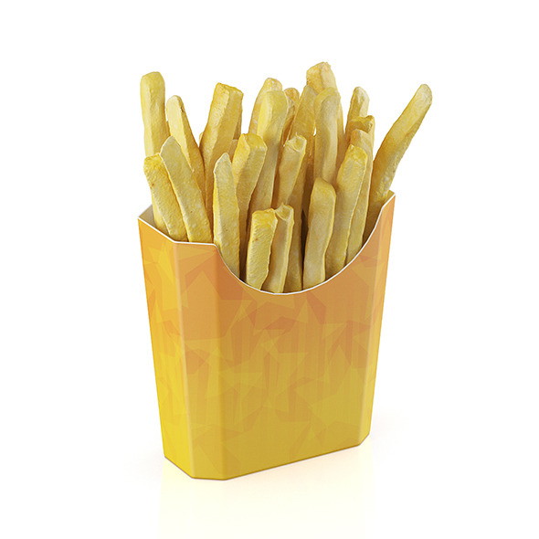 3DOcean French fries 11619271