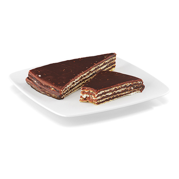 Chocolate wafers - 3DOcean Item for Sale
