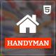 Handyman - Job Board HTML Template - ThemeForest Item for Sale