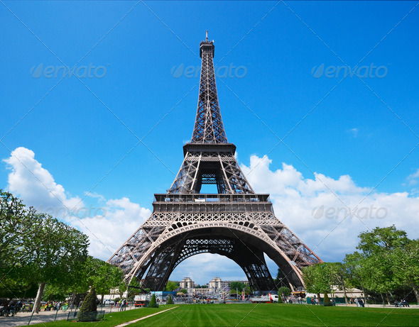 Stock Photo - PhotoDune Eiffel Tower 1165846