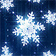 Winter snowflakes loop - VideoHive Item for Sale