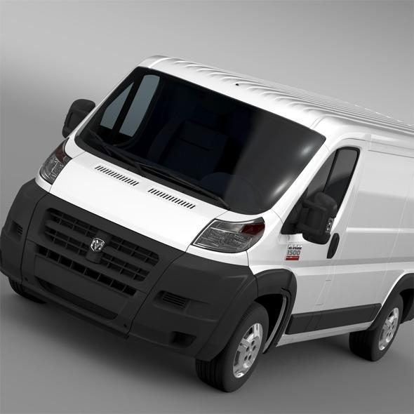 3DOcean Ram Promaster Cargo 1500 LR 136WB 2015 11620423