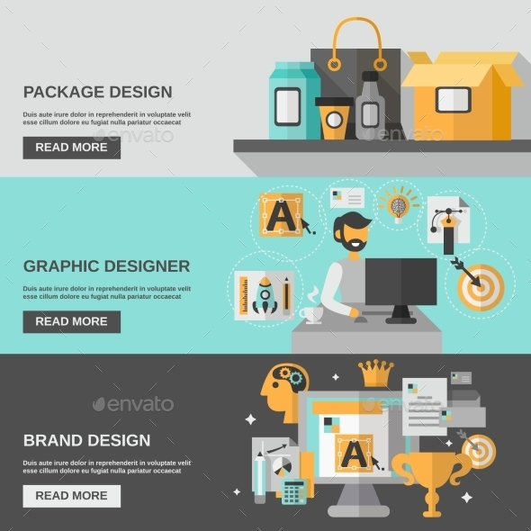 GraphicRiver Branding Banner Set 11620585