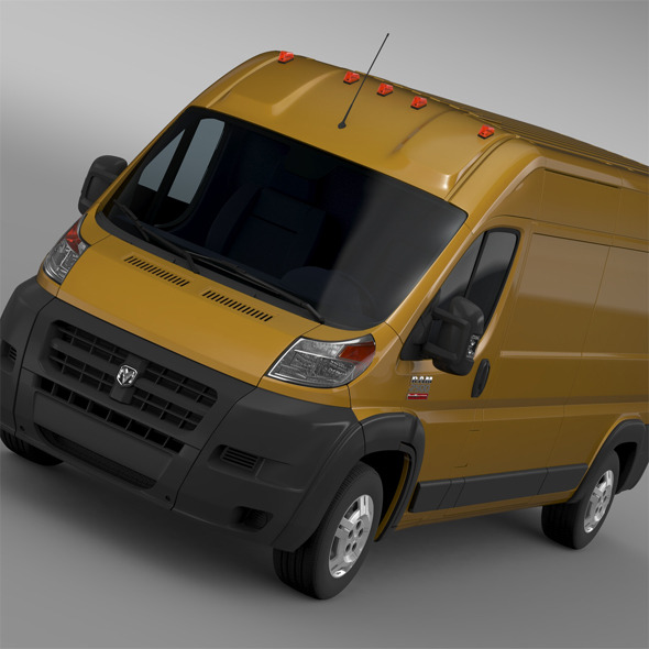 Ram Promaster Cargo 2500 HR 159WB 2015 - 3DOcean Item for Sale