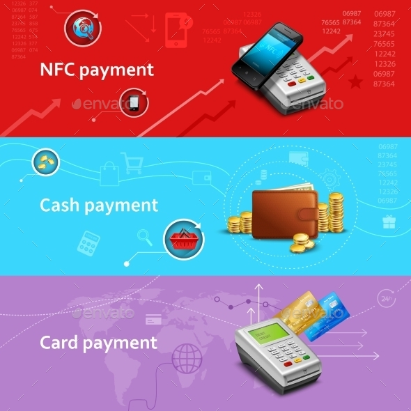 GraphicRiver Payment Banners Set 11620621