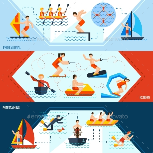 GraphicRiver Water Sports Banners 11620647