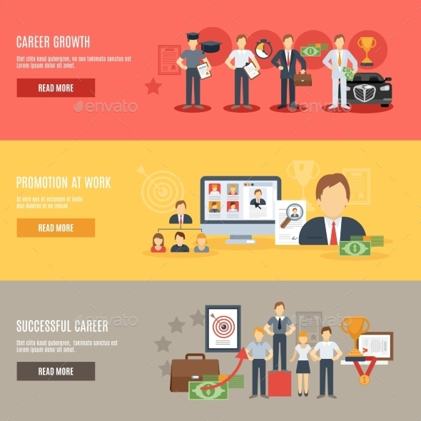 GraphicRiver Career Banner Set 11620670