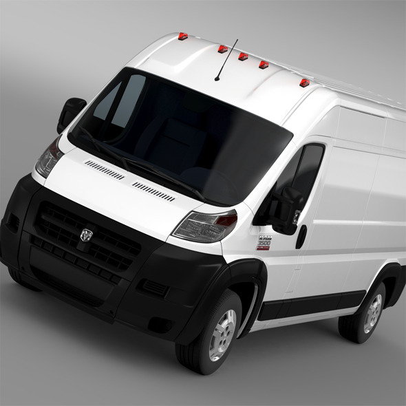 Ram Promaster Cargo 3500 HR 159WB 2015 - 3DOcean Item for Sale