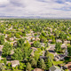 aerial panorama of Fort Collins - PhotoDune Item for Sale