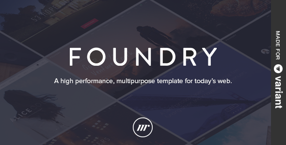 ThemeForest Foundry Multipurpose HTML & Variant Page Builder 11562108
