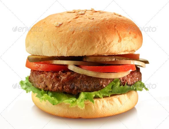 Stock Photo - PhotoDune Hamburger 1166190