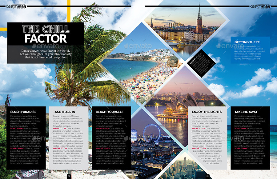 Magazine Template Bundle - InDesign Layout V3 by BoxedCreative ...