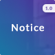 Notice - 18 Email notifications + Online Builder