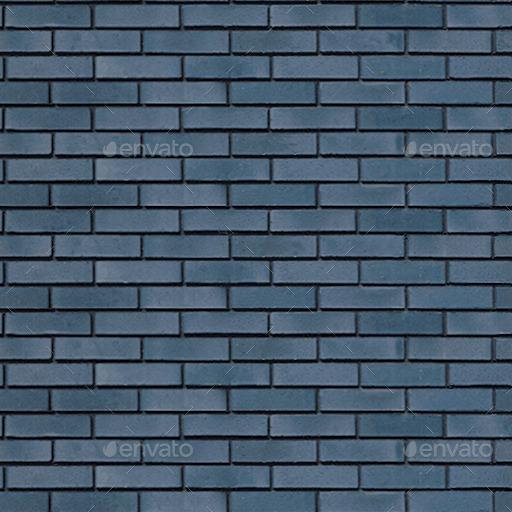 Blue Glazed Brick Texture By Ognog 3docean