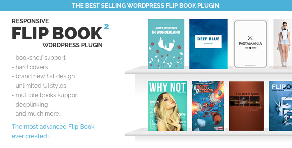 Responsive FlipBook WordPress Plugin - CodeCanyon Item for Sale
