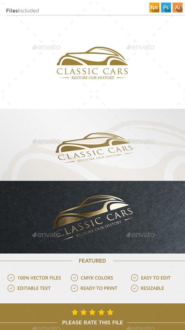 GraphicRiver Classic Car Logo 11609367