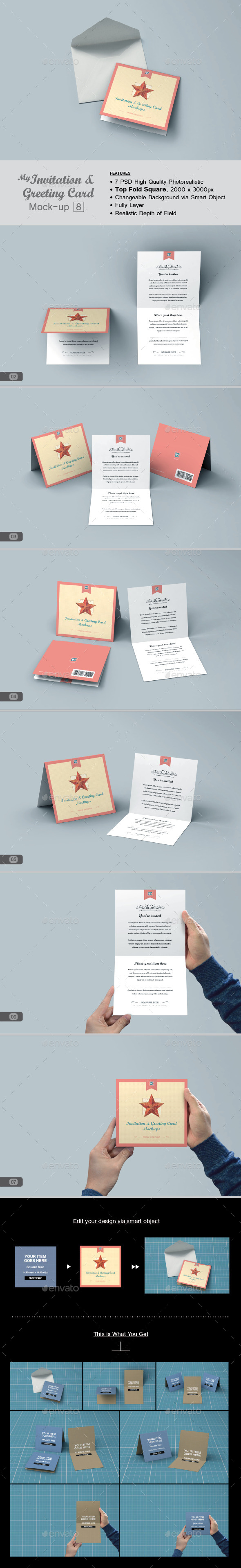 GraphicRiver myGreeting Card Mock-up v8 11587173
