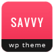Savvy - Creative Wordpress Magazine Theme - ThemeForest Item for Sale