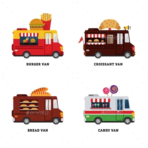 GraphicRiver Street Food Van 11624112
