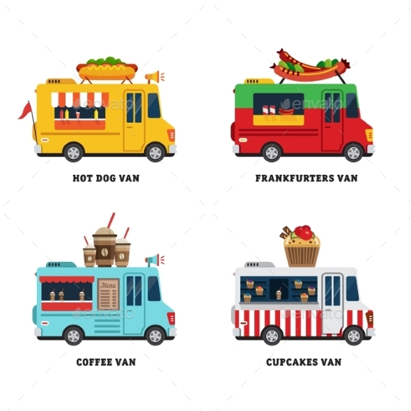 GraphicRiver Street Food Van 11624129
