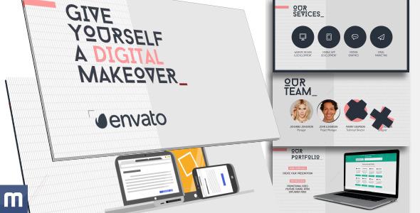 Digital Makeover Universal Presentation