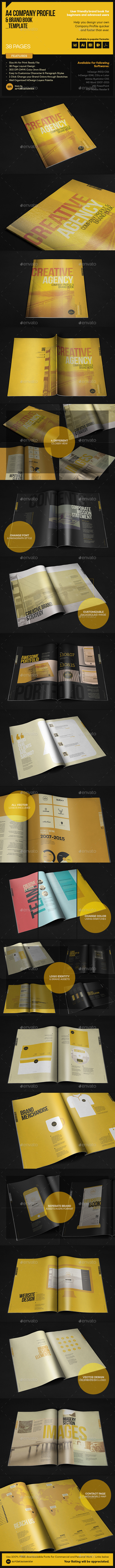 GraphicRiver Company Profile & Brand Book Template 11438117