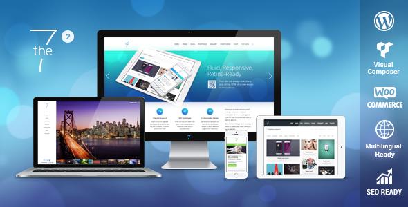 The7 — Responsive Multi-Purpose WordPress Theme - Corporate WordPress